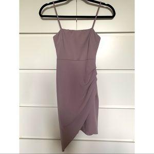 Blue Blush Lilac Bodycon Dress size XS-S